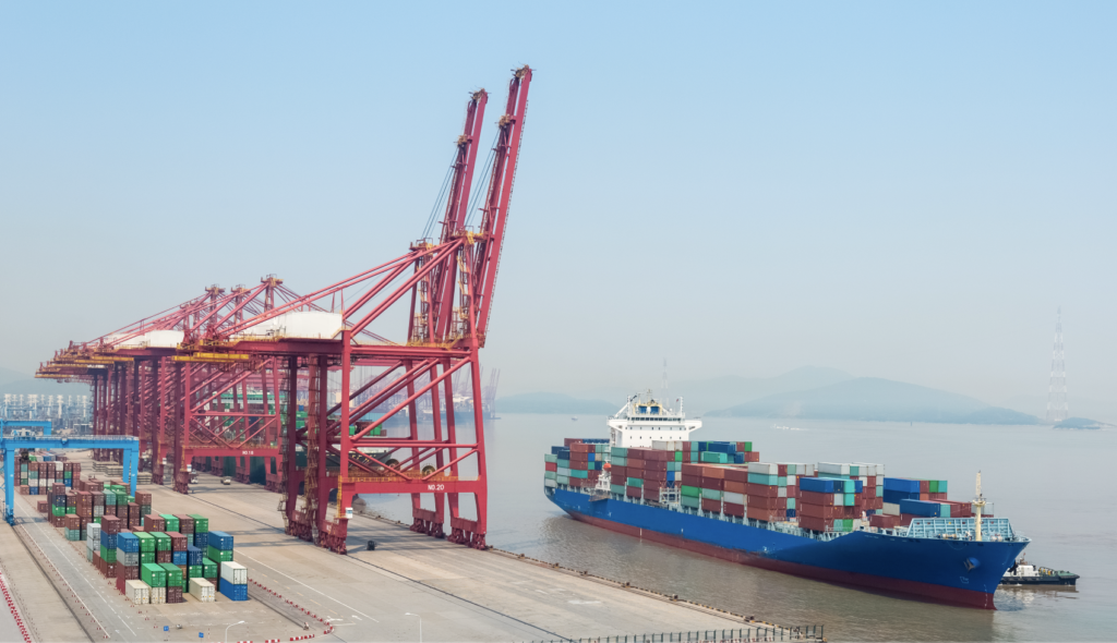 Puerto de china
